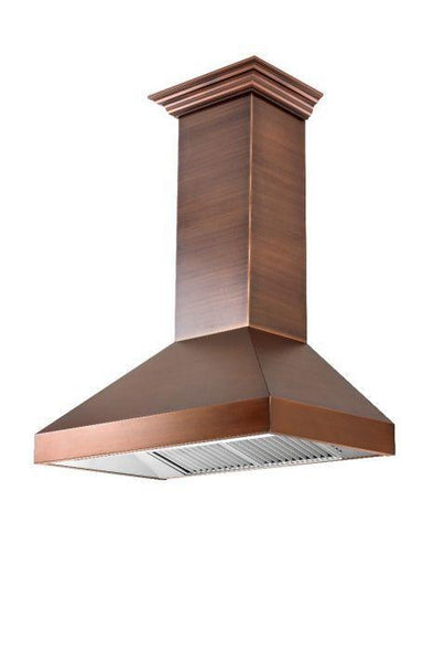 zline-copper-wall-mounted-range-hood-8667c-side-under-
