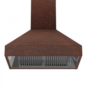 "ZLINE 48"" Copper Wall Range Hood 8667E-48, Crown Molding test"