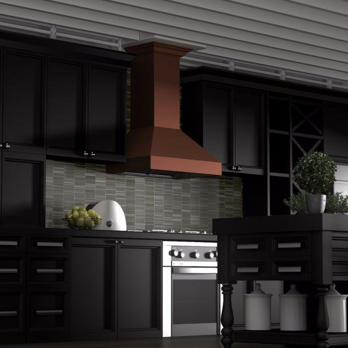 zline-copper-wall-mounted-range-hood-8697c-kitchen