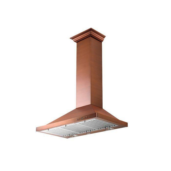 zline-copper-wall-mounted-range-hood-8kbc-side