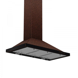 "ZLINE 36"" Copper Wall Range Hood, 8KBE-36"