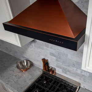 "ZLINE 42"" Copper Wall Range Hood KB2-CBXXX-42 test"