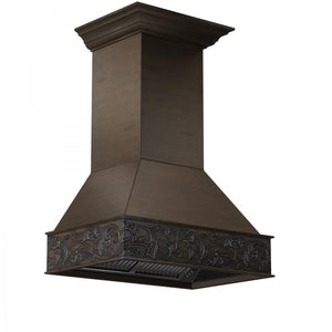 "ZLINE 30"" Designer Wooden Wall Mount Range Hood in Normandy, 373NN-30"