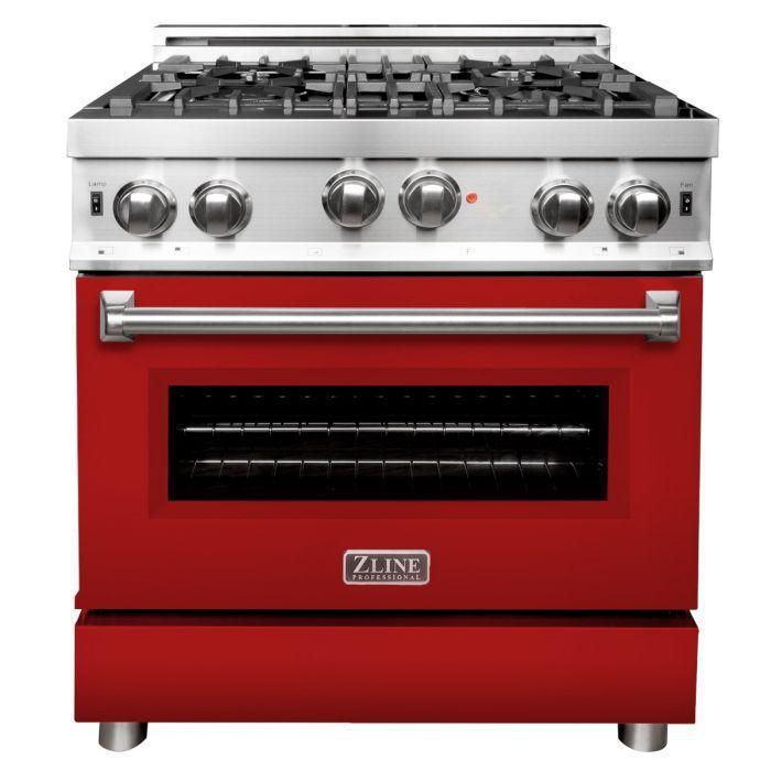 Zline 30 In Professional Gas On Gas Range In Stainless