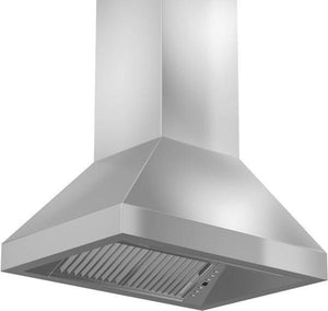 "ZLINE 48"" Remote Dual Blower Stainless Island Range Hood, 597i-RD-48"