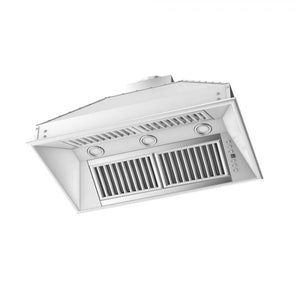 "ZLINE 34"" Remote Blower Stainless Range Hood Insert, 721-RS-34"