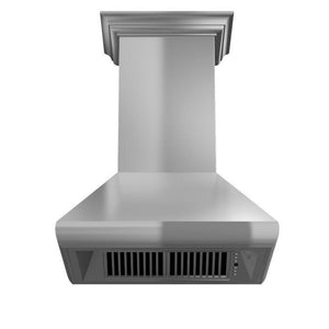 zline-stainless-steel-wall-mounted-range-hood-587crn-underneath test