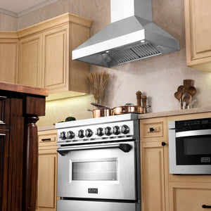 "ZLINE 60"" Professional Stainless Steel Wall Range Hood, 597-60 test"