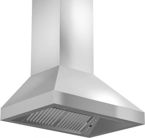 "ZLINE 48"" Remote Dual Blower Stainless Wall Range Hood, 597-RD-48"