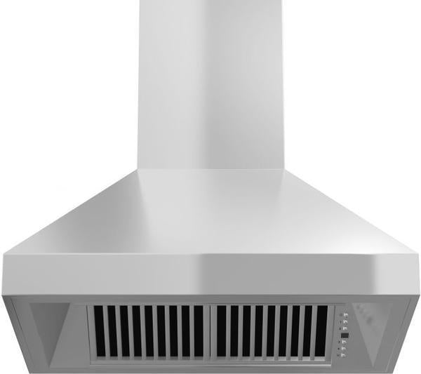 "ZLINE 42"" Remote Dual Blower Stainless Wall Range Hood, 597-RD-42"