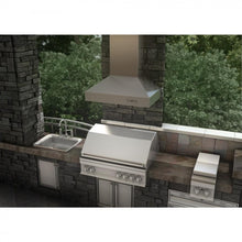 "ZLINE 36"" Outdoor Stainless Steel Wall Range Hood, 697-304-36"
