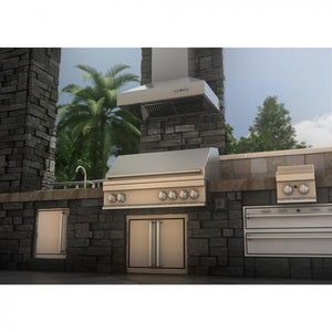 "ZLINE 30"" Convertible Vent Wall Mount Range Hood in Outdoor Approved Stainless Steel, 697-304-30 test"