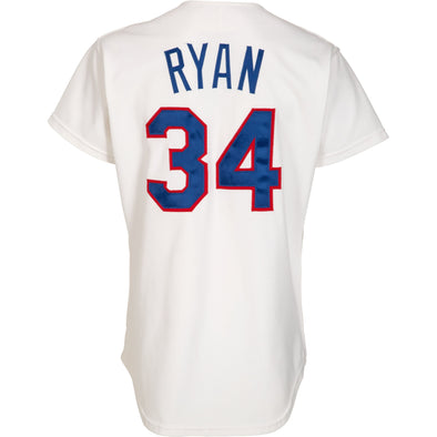 Nolan Ryan 1992-93 Texas Rangers Game Worn Jersey