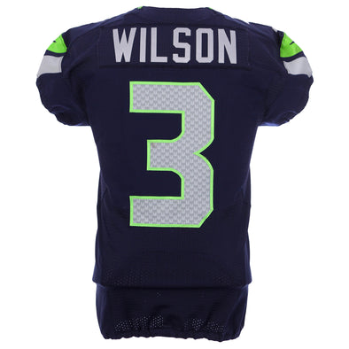 Russell Wilson 2012 Seattle Seahawks Game Worn Jersey