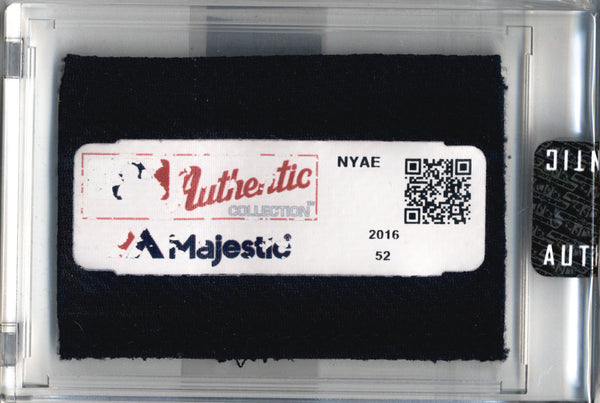 Aaron Judge 2016 NY Yankees Game Worn BP Jersey Mystery Swatch Box
