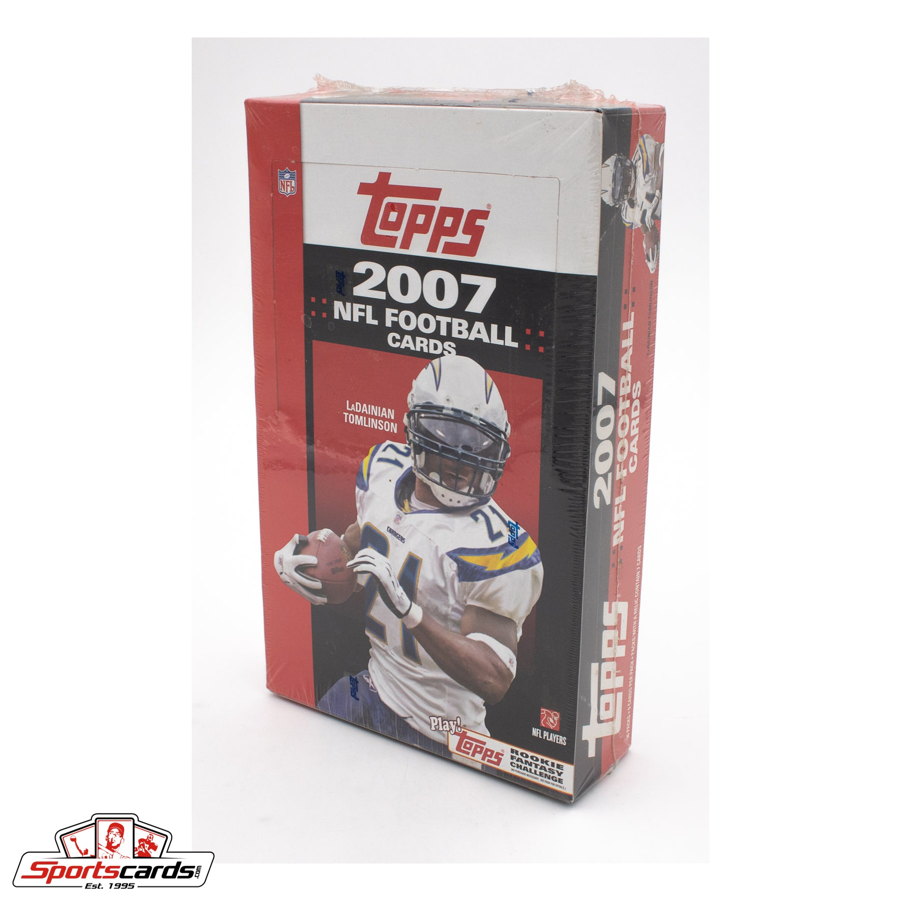2007 Topps NFL Football Factory Sealed Box