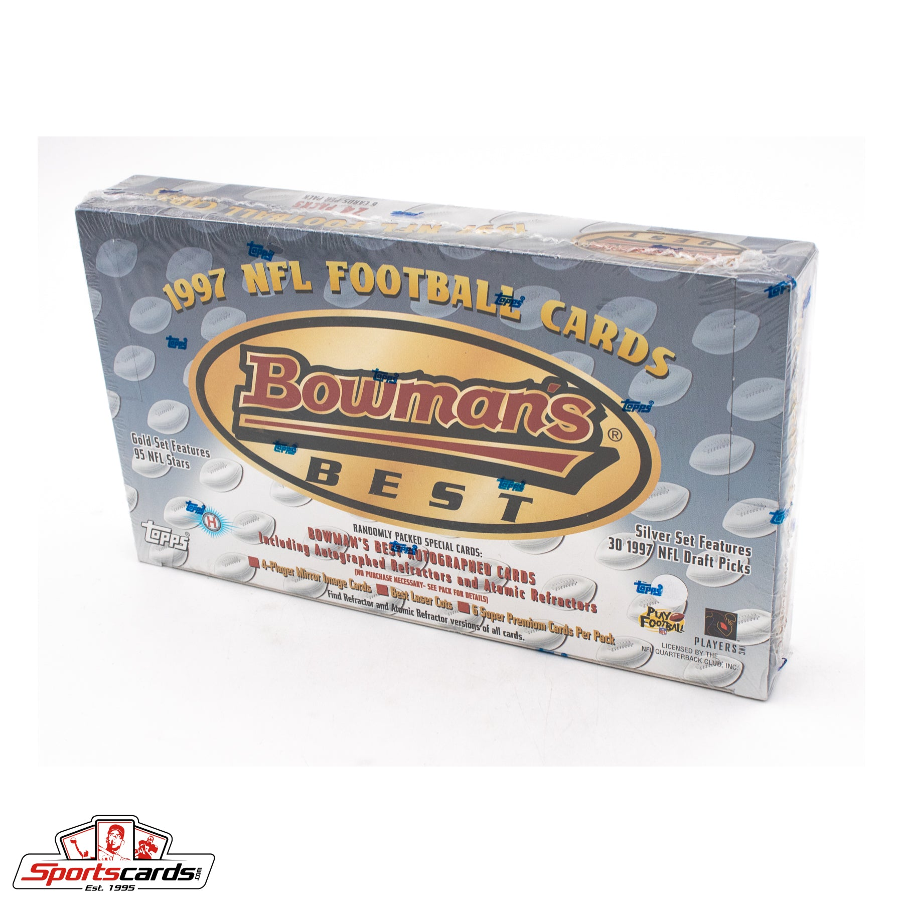 1997 Bowman's Best Football Factory Sealed Box