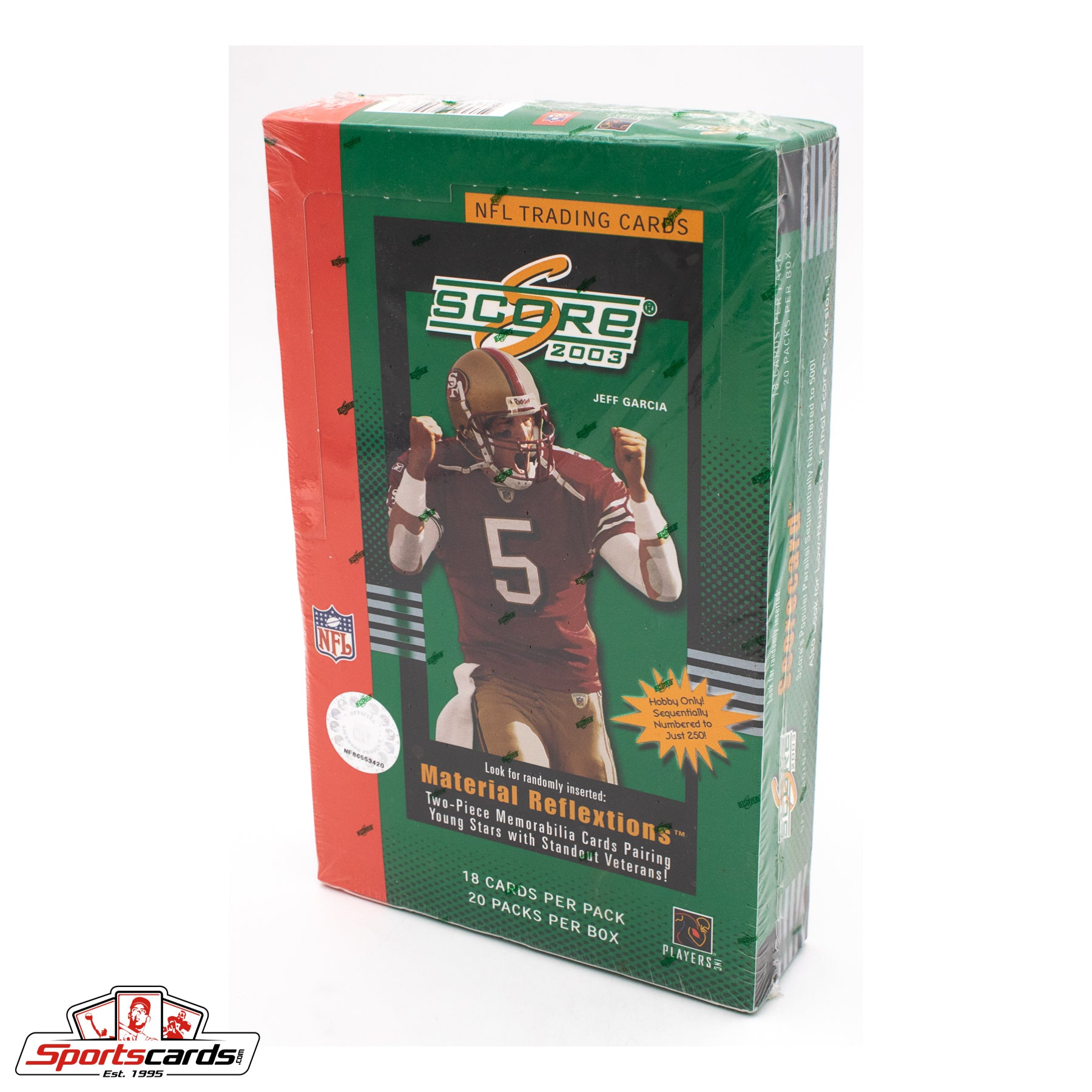 2003 Score NFL Football Trading Cards Factory Sealed Box