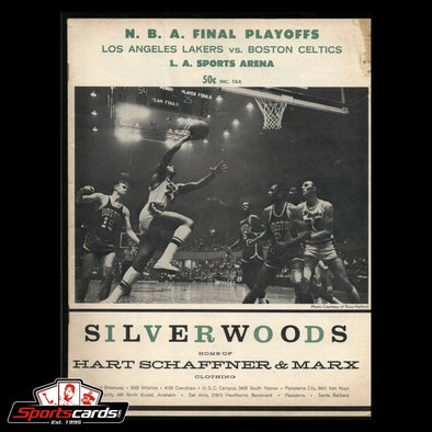 1962-63 NBA Final Playoffs Program Lakers vs. Celtics L.A. Sports Arena Complete