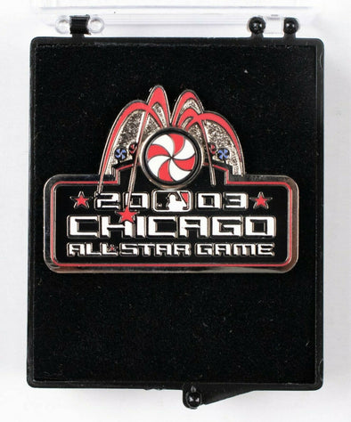 2003 MLB All-Star Game Press Pin Chicago