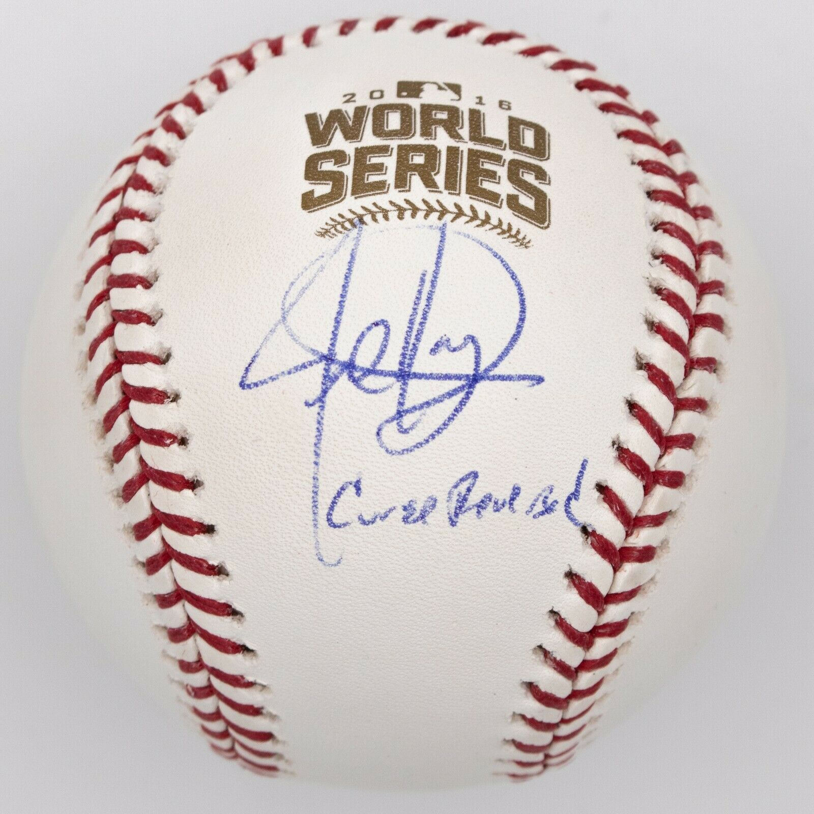 Jed Hoyer Signed 2016 World Series Baseball BAS Chicago Cubs General Manager