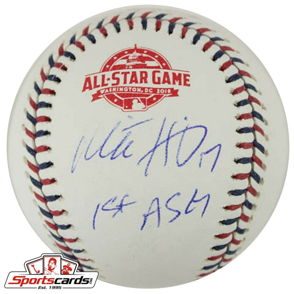 Mitch Haniger Signed 2018 All-Star Game Baseball BAS Beckett Auto Mariners
