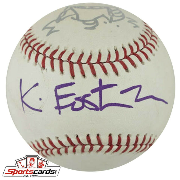 TMNT Kevin Eastman Signed PCL Baseball JSA COA + Shredder Sketch