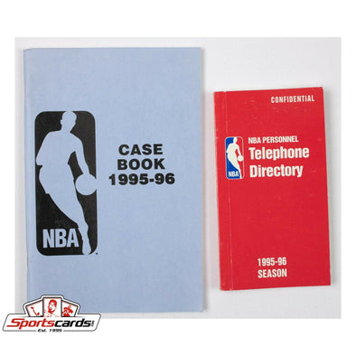 1995-96 NBA Case Book and Personnel Telephone Directory League and Team Phone #