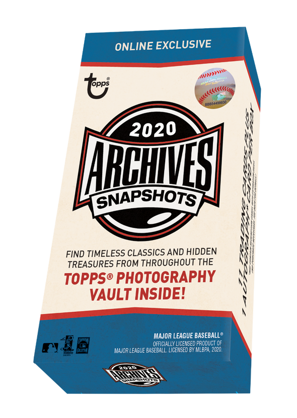 2020 Topps Archives Snapshots Factory Sealed Box 1 Auto Per Box Trout Robert ???