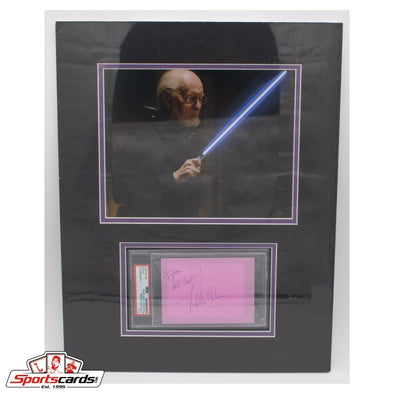 John Williams Composer PSA/DNA Signed Cut Matted with 8x10 Photo 14x18 Overall