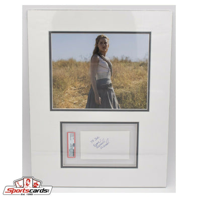 Evan Rachel Wood Actress PSA/DNA Signed 3x5 Matted with 8x10 Photo