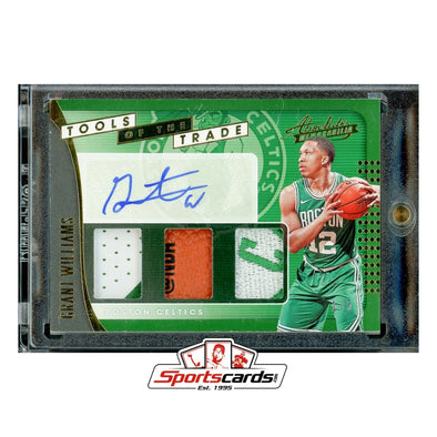 Grant Williams 2019-20 Absolute Tools of the Trade Auto Logo Patch RC # 1/5