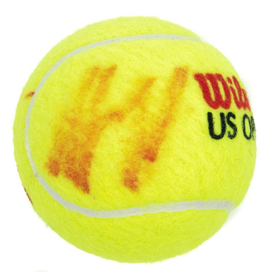 Andy Roddick Signed Autograph Wilson U.S. Open Tennis Ball JSA