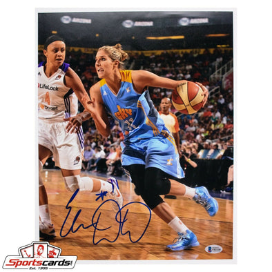Elena Delle Donne Signed 11x14 Photo Beckett BAS Auto WNBA Chicago Sky