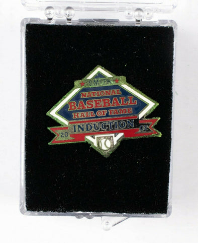 2002 MLB Hall of Fame Induction Press Pin Ozzie Smith