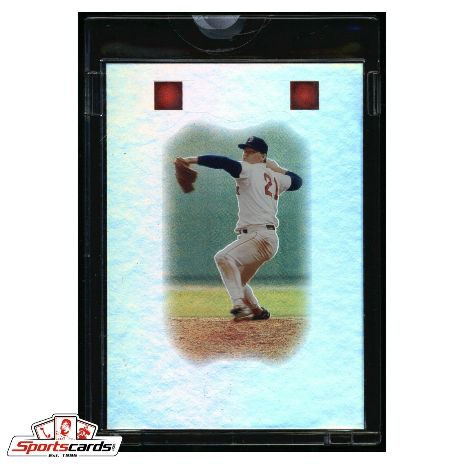 Rare Unreleased 2009 Topps Sterling Roger Clemens 1/1 Proof Topps Vault COA