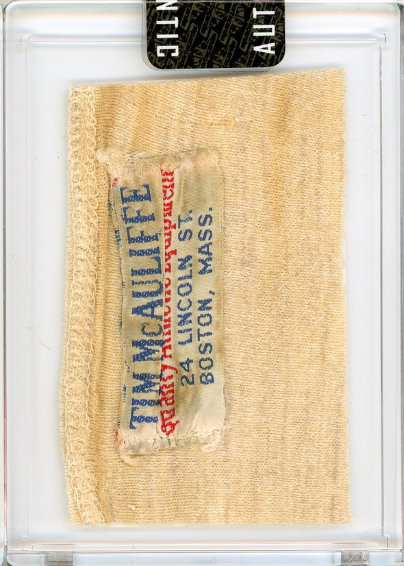 Willie Mays 1960's San Francisco Giants Game Worn Shirt Mystery Swatch Box