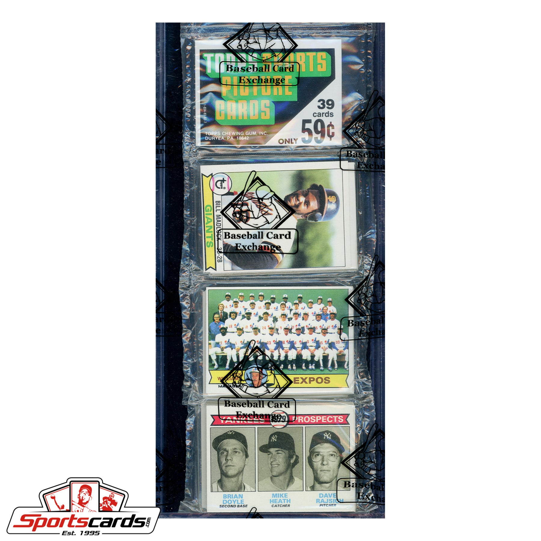 1979 Topps Baseball Rack Pack BBCE Certified - Find the Ozzie Smith RC!