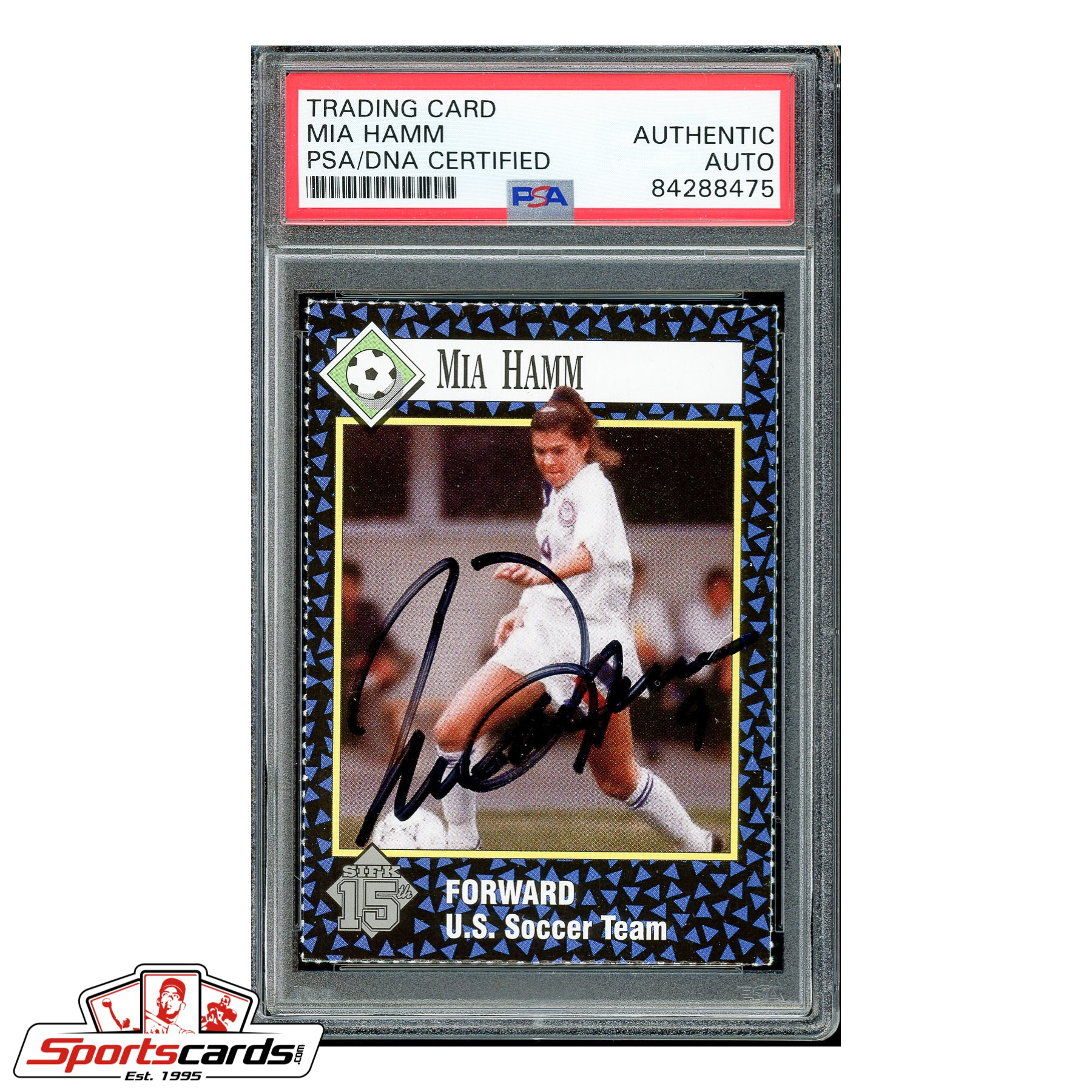 Mia Hamm Signed Auto 1992 S.I. Kids RC - PSA/DNA