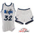 Shaquille O'Neal Rookie Year Game Worn 1992-93 Orlando Magic Jersey and Signed Shorts - MEARS A10 LOA