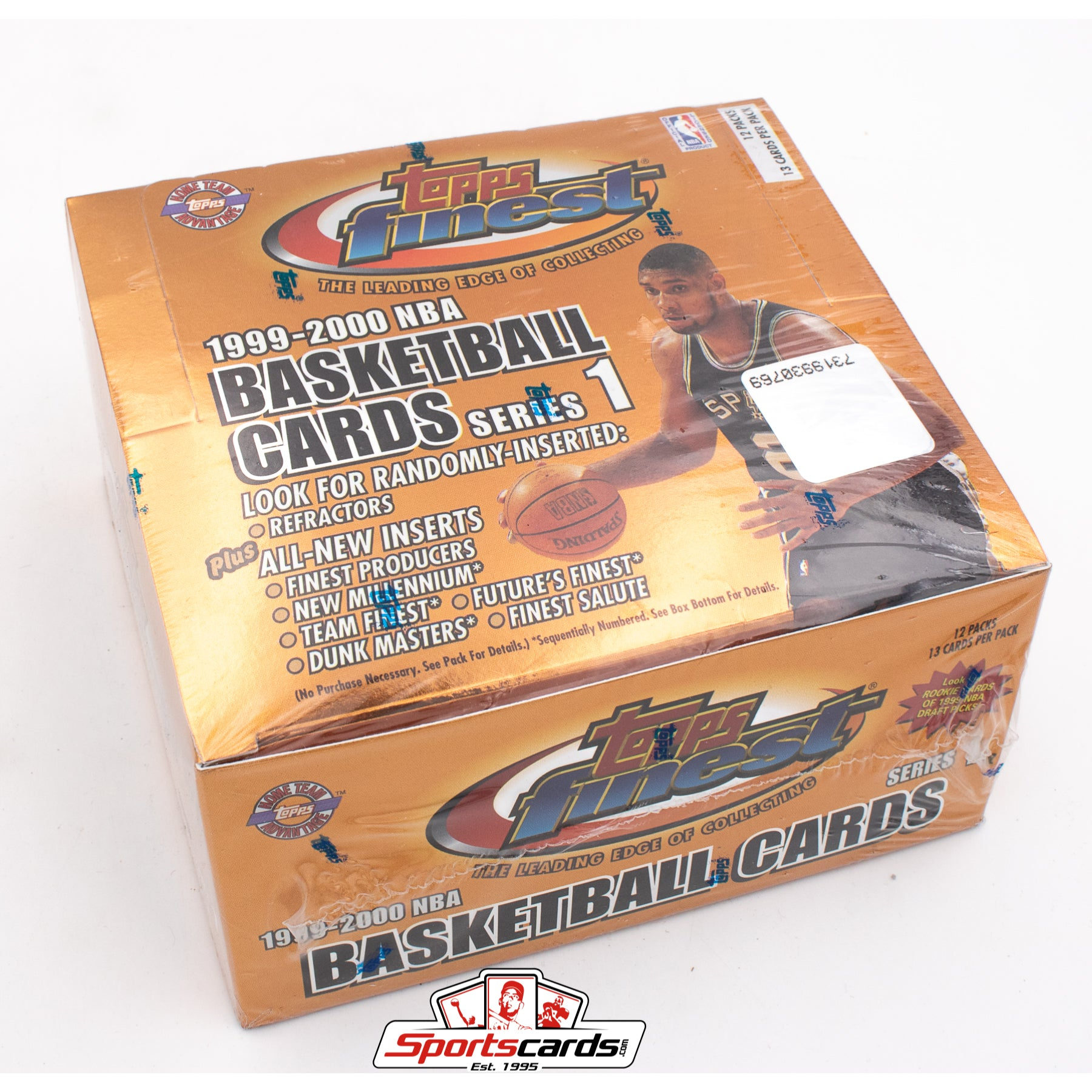 1999-2000 Topps Finest Basketball NBA Series 1 Factory Sealed HTA Box