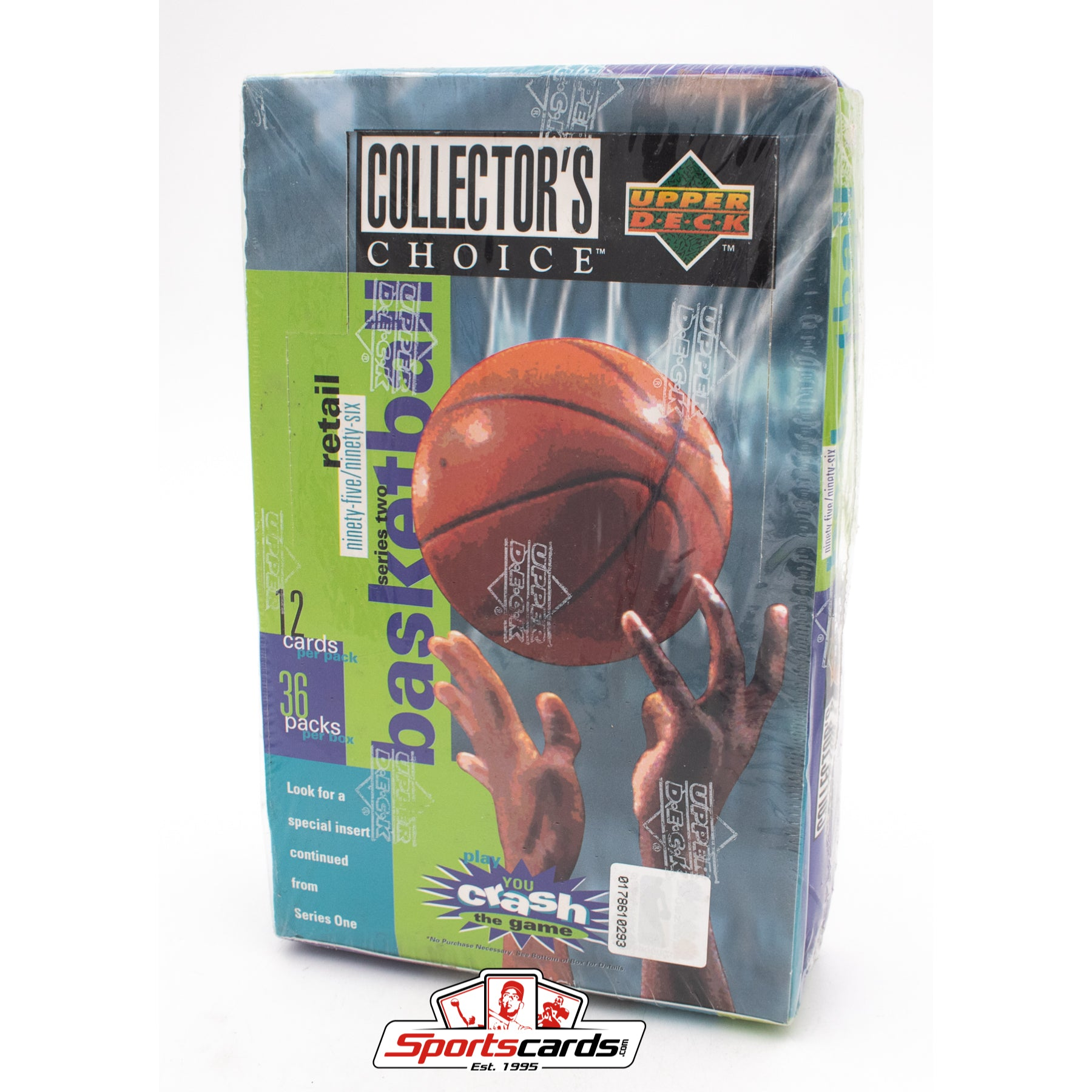 1995-96 Upper Deck Collectors Choice Basketball Factory Sealed Box