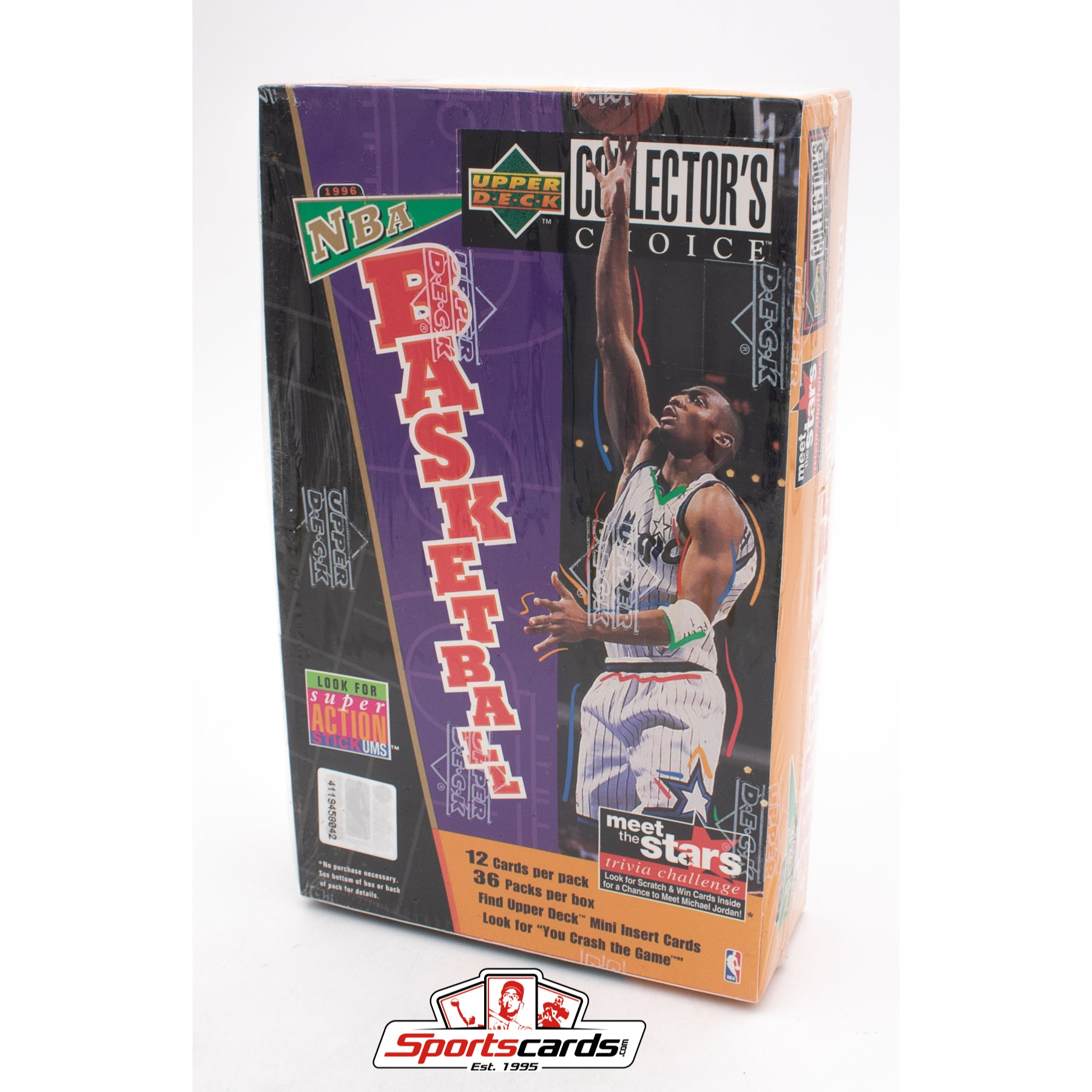 1996-97 Upper Deck Collectors Choice Basketball Factory Sealed Box