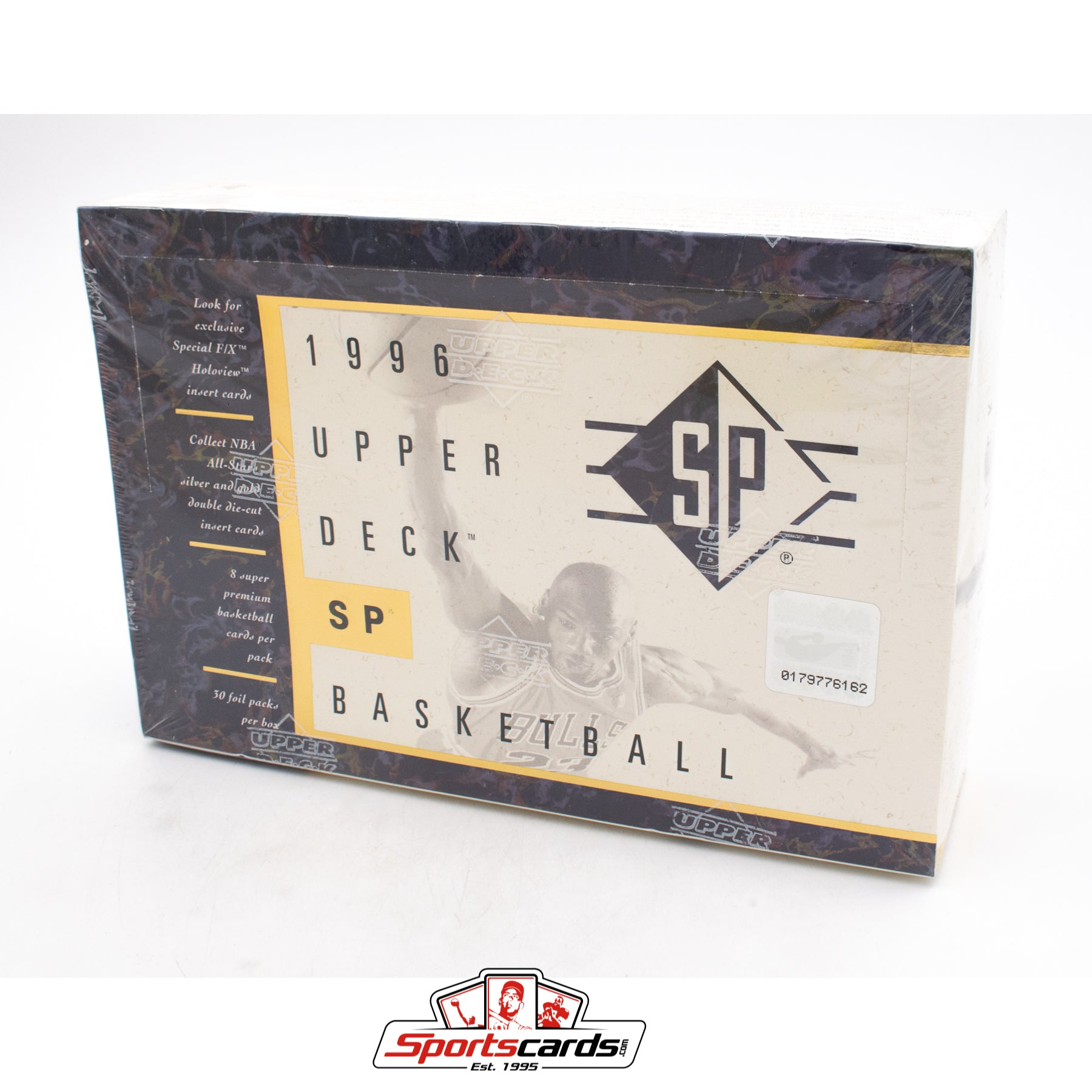 1995-96 Upper Deck SP Basketball Factory Sealed Box