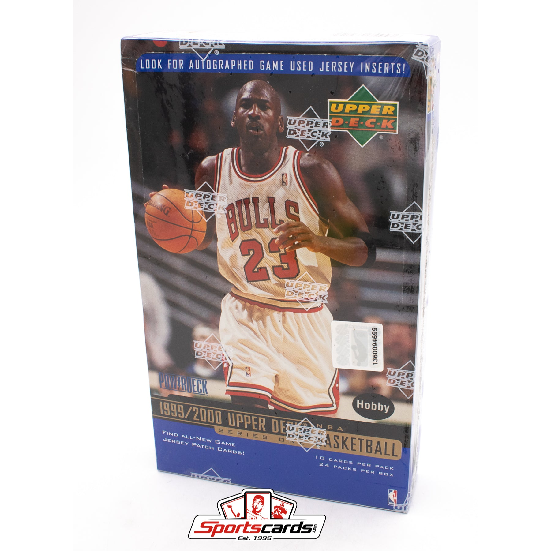 1999-2000 Upper Deck Basketball Series 1 Hobby Factory Sealed Box