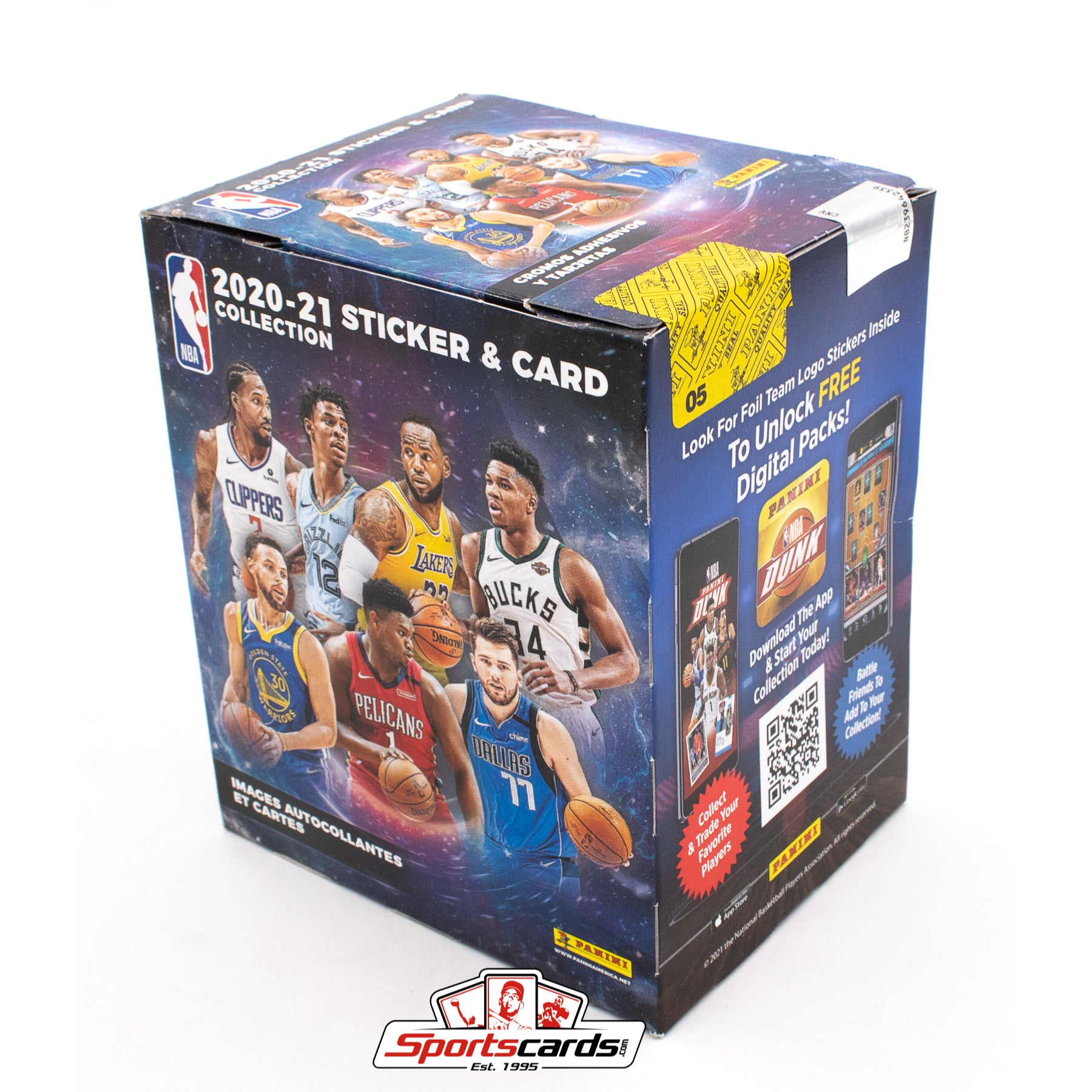 2020-21 Panini NBA Sticker & Card Factory Sealed Box - Find the LaMelo Ball RCs!