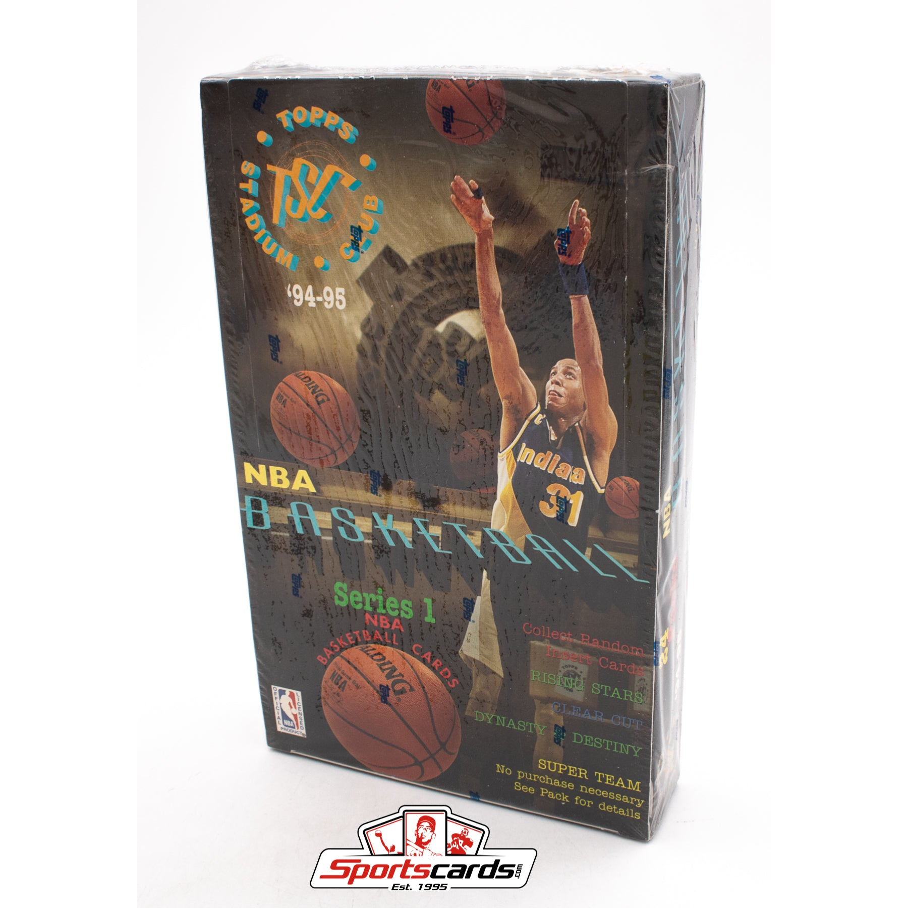 1994-95 Topps Stadium Club NBA Basketball Series 1 Factory Sealed Box