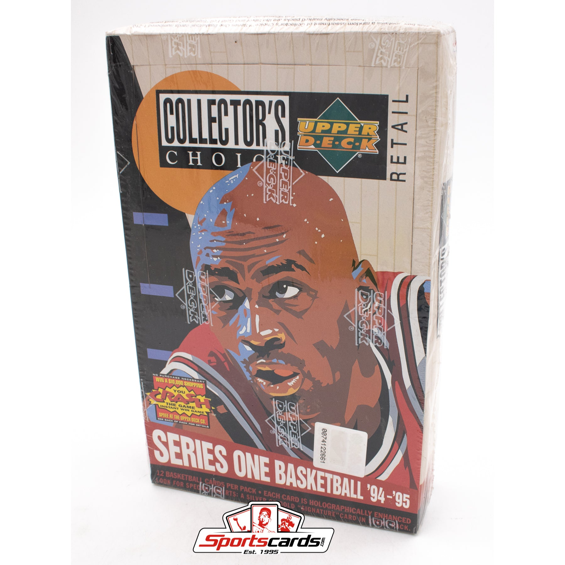 1994-95 Upper Deck Collector's Choice Series 1 Basketball Factory Sealed Retail Box