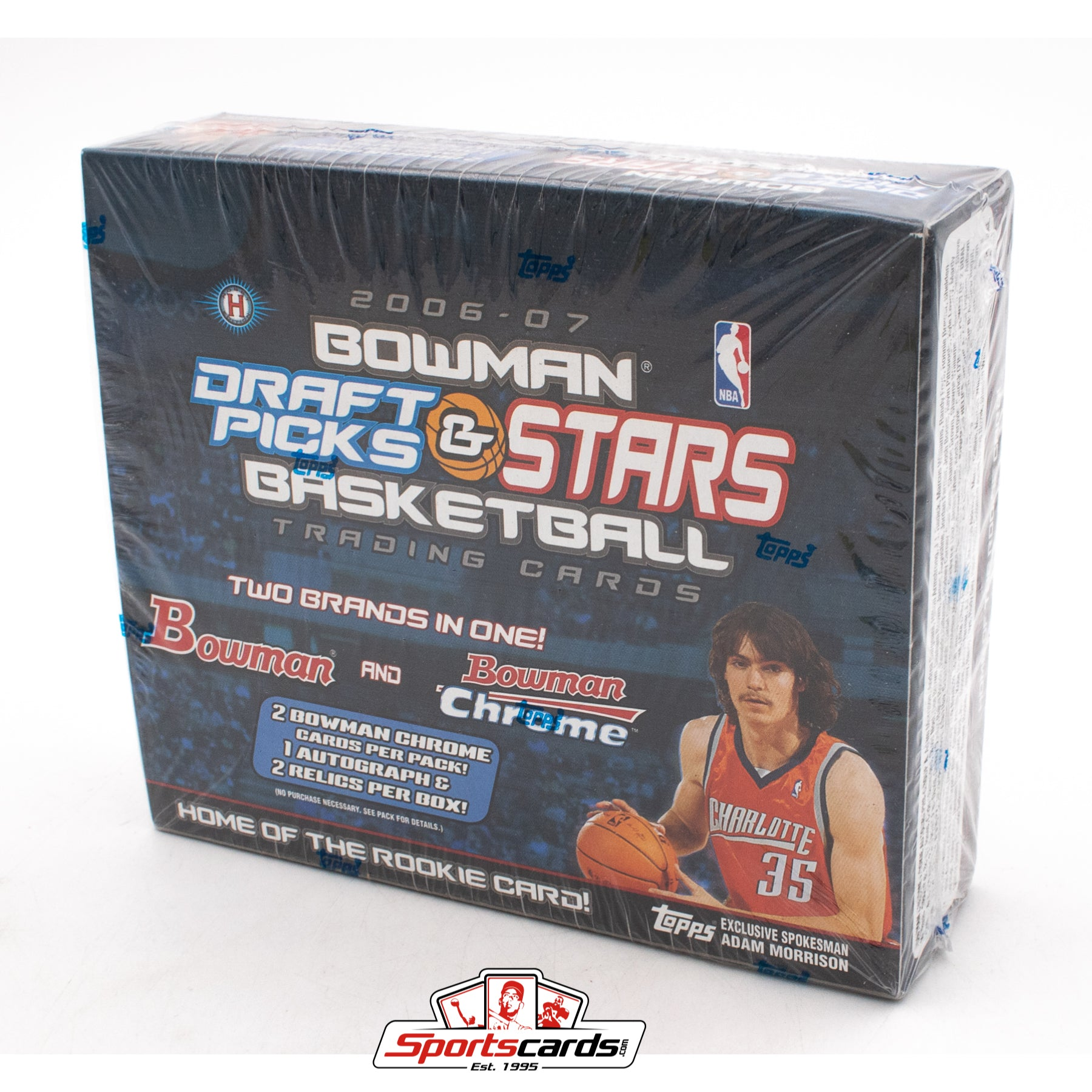 2006-07 Bowman Draft Picks & Stars Basketball Factory Sealed Box