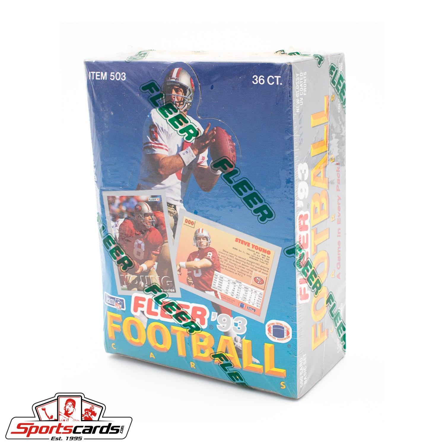 1993 Fleer Football Factory Sealed Box